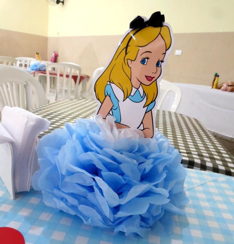 Centro de mesa Alice - Engenho de Papel - Keh Marcos