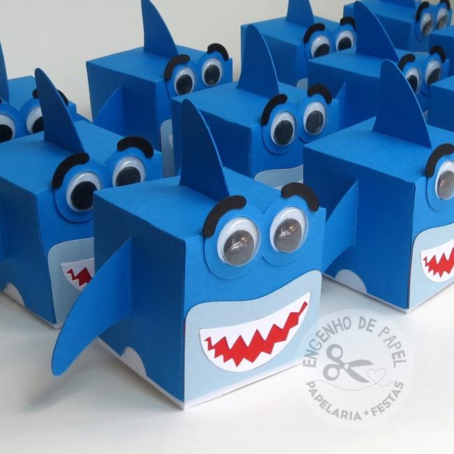 Caixinha Tubarão