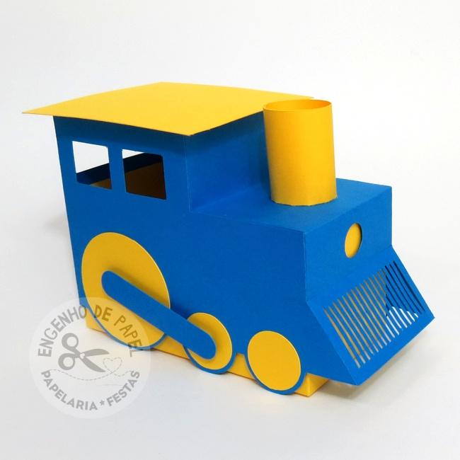 Caixa Trenzinho