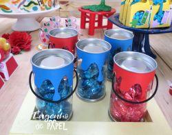 mesa 3 pintando o 7 @engenhodepapel