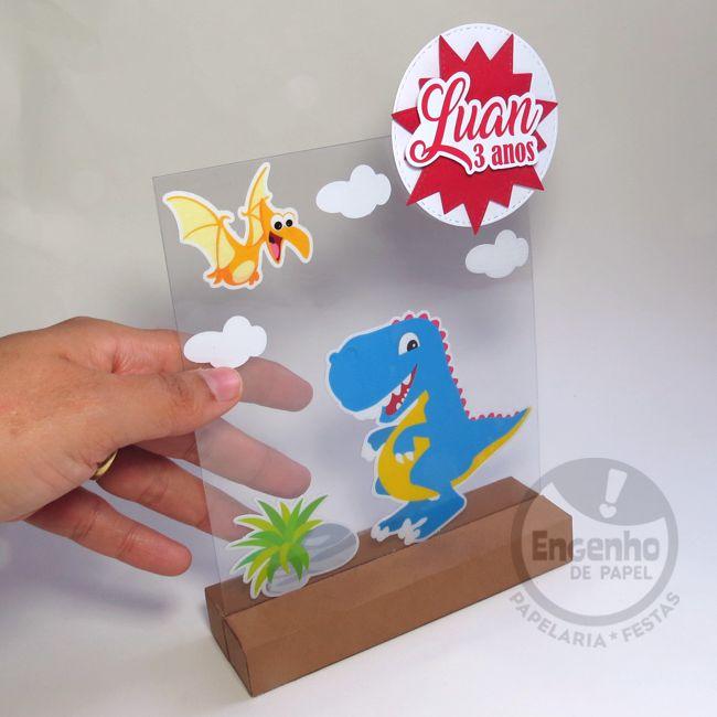 Totem/ display Dinossauro